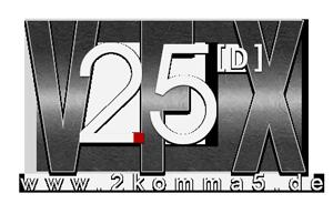 VFX / SFX / Green Screen - 2komma5D Logo